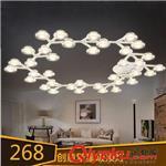 吸顶灯 繁星LED吸顶灯新款 简约创意客厅餐厅卧室书房灯 酒店工程灯具