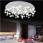 吸顶灯 LED亚克力吸顶灯 欧式现代创意蘑菇吸顶灯客厅餐厅卧室酒店工程灯