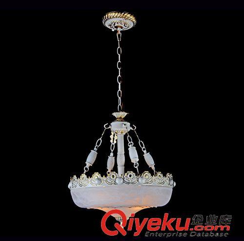 欧式餐厅吊灯 美式单头铁艺吊锅灯 咖啡店吧台装饰 客厅餐桌吊灯图片