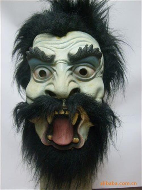 脸谱 大量供应乳胶面具,鬼节面具,万圣节面具
