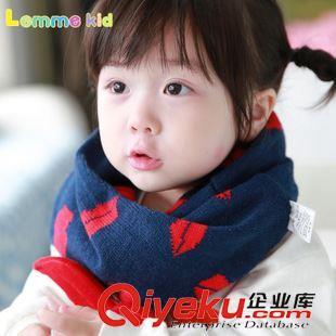10月秋冬帽子新款 韩国儿童围巾男潮女棉质韩版宝宝套头秋冬款婴儿