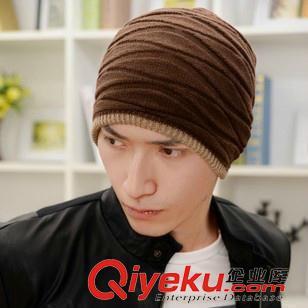 男款帽子 kl27男士秋冬季针织帽毛线帽 韩版潮冬天户外时尚保暖帽套