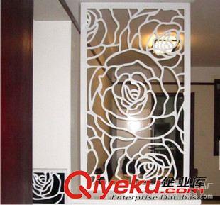 复古屏风 乾辉欧式铁艺屏风客厅隔断时尚雕花屏风创意窗花铁板插屏