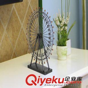 铁艺摩天轮模型欧式客厅摆件装饰创意结婚礼物