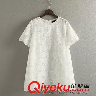 未分类 YY2015年夏季新款韩版东大门欧根纱裙时尚小清新白色显瘦女裙批发