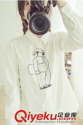 衬衫的门襟手绘图