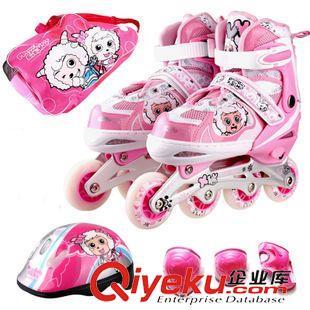 动感 动感溜冰鞋成人轮滑鞋旱冰鞋儿童可调滑冰鞋男女