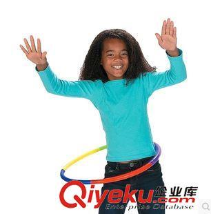 平衡 协调 感统 儿童可拆装呼啦圈 健身 户外有氧运动 塑料 玩具2套