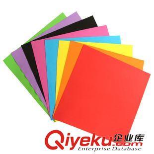 折纸素材 大张1mm海绵纸eva纸手工彩色纸泡沫