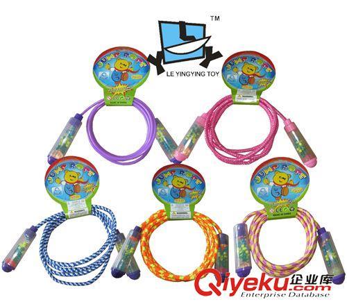 未分类 专业跳绳幼儿园小学生考试儿童运动玩具糖果色