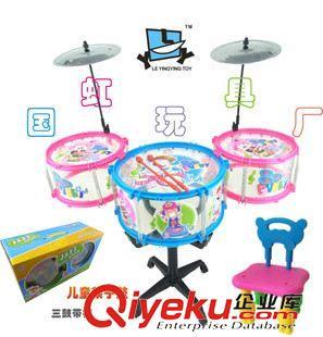 装架子鼓爵士鼓宝宝拍打玩具早教表演幼儿园亲子互动