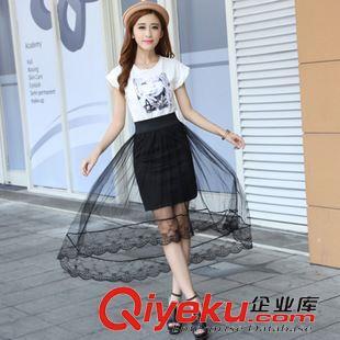 甜美可爱 淘宝摄影女装连衣裙服装拍摄韩国韩风韩版甜美街拍女模一件