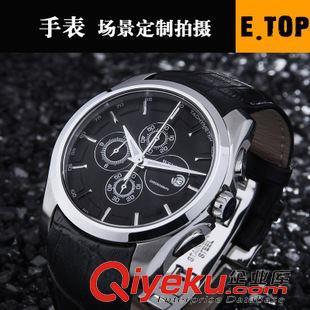 静物拍摄 男女手表 情侣手表 钢质皮带手表场景拍摄 广州淘宝拍照