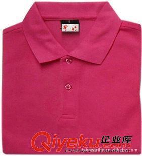 广州服装厂加厚长袖玫红t恤广告手绘