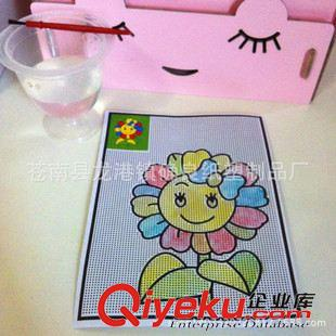 纸盒纸袋 儿童水画 幼儿园创意炫彩水画diy玩具亲子手工绘画,有水就有