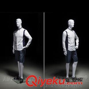 男士190cm站姿服装店商场专供男性服装陈列模特