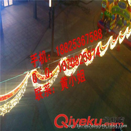 11月LED造型灯 圣诞节灯 高1米,宽60cm双向LED路灯杆造型灯 图案灯 LED跨街灯广场