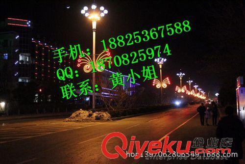 9月LED路灯杆造型灯|过街灯 城区LED路灯杆造型灯 大中国结LED过街灯 双向发光LED过街灯