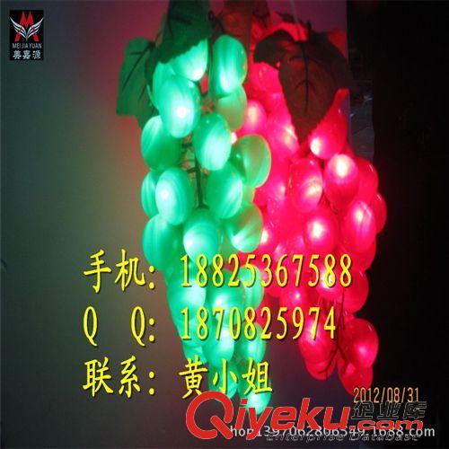 LED装饰灯系列 元旦灯 LED水果灯串 街道挂树灯串 美嘉源LED路灯杆装饰灯