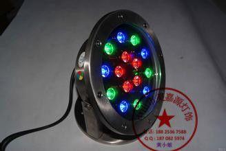 LED大功率户外灯 [品质保证]LED喷泉灯 led水底灯5W led水下喷泉射灯 led水池灯