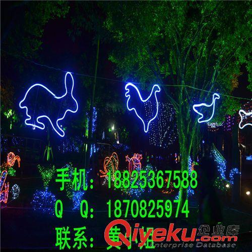 LED造型灯 丝绳LED过街灯 圆柱形花园灯 柱头灯厂家 LED路灯杆造型灯 跨街灯