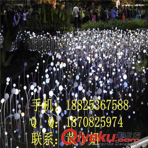LED造型灯 LED圆球芦苇灯 公园草地装饰灯LED过街灯 摇钱树灯