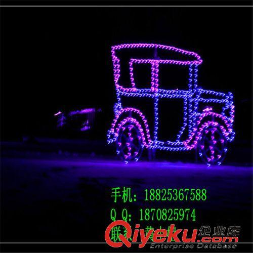LED造型灯 楼体亮化 马路LED跨街灯 护栏管批发厂家 摇头玫瑰LED路灯杆装饰