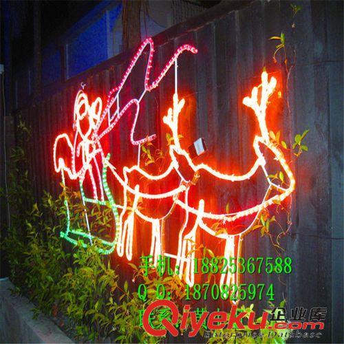 LED造型灯 人工湖桥梁亮化灯具|认证LED路灯杆造型灯|街道装饰灯|花生亮化