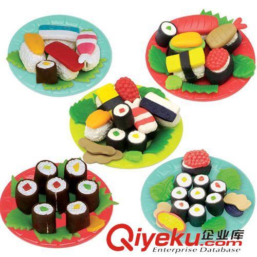 彩泥 橡皮泥玩具 3d橡皮泥 寿司模具套装 儿童益智玩具 安全无毒