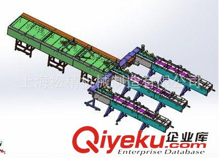 枕式包装机 供应花生糖自动理料包装生产线/枕式一托三自动包装设备