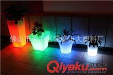 滚塑风机 加工定制LED发光花盆 滚塑发光花盆 PE材料装饰花盆 滚塑灯饰厂家