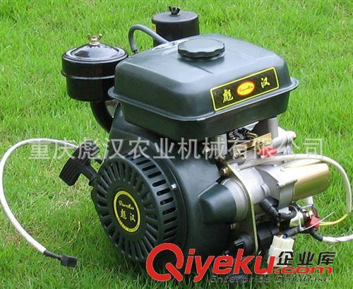 内燃机 重庆彪汉168电启动柴油机,国内最小的单缸风冷小型电启动柴油机