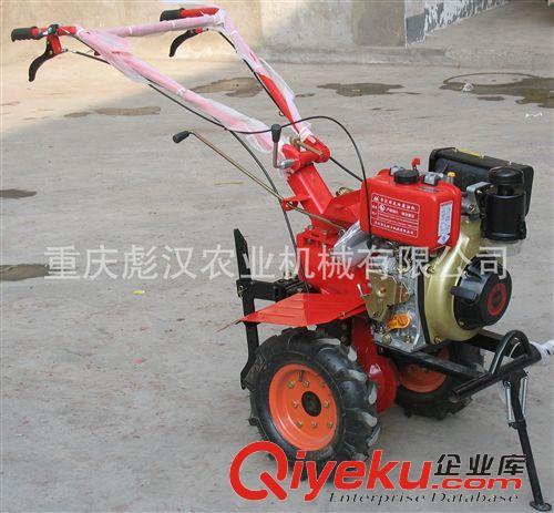 """土壤耕整机械 """"彪汉""""牌170柴油微耕机,大棚疏菜地用国内最小型的柴油微耕机"""