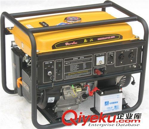 汽油发电机组 中国高端汽油发电机制造商生产带ATS自动切换的无人置守发电机组