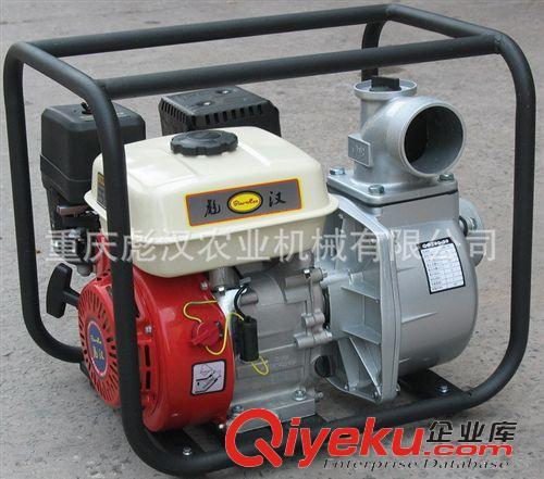 排灌机械 烧柴油的抽水机:168柴油机水泵,小型柴油机自吸水泵,重庆彪汉