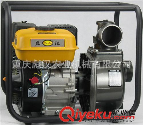 排灌机械 适合丘陵地区的抽水机:3寸170汽油机水泵,80mm口径的汽油抽水泵