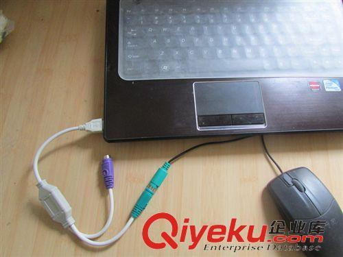 其它usb转ps2 转接线 圆头鼠标键盘接口转换器 转接头