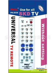电视机{wn}TV遥控器 PHILL多功能遥控器
