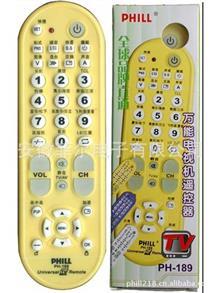 电视机{wn}TV遥控器 新款ABS外壳多功能电视机遥控器,PH-189适用于95%品牌电视