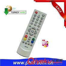电视机遥控器(单一型号) 供应全新ABS外壳SAT遥控器,SR-020卫星接收机适用于土耳其市场