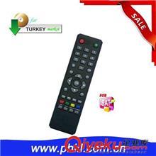 电视机遥控器(单一型号) 供应全新ABS外壳SAT遥控器,SR-KK卫星接收机适用于土耳其市场