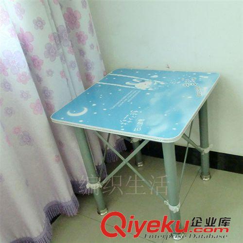 批发70cm学生美女专用卡通图案折叠桌小课桌餐桌小桌子多种卡通桌