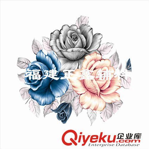 精雕欧式洋花玫瑰