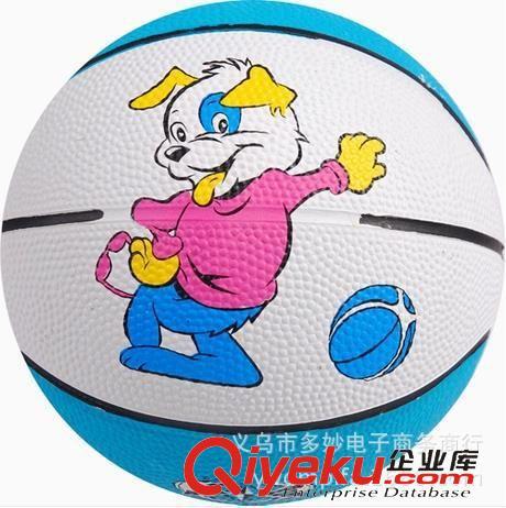 篮球/足球/排球/羽毛球/乒乓球/网球 狂神2#彩色橡胶篮球 专业儿童