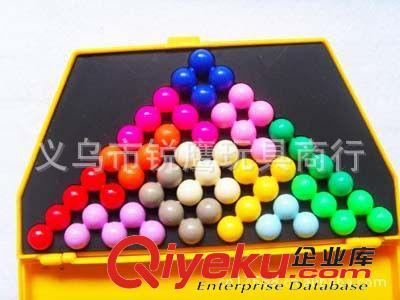 塑料益智玩具 智慧金字塔