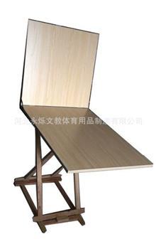 爆款推荐 中小学美术用品厂家 折叠写生静物台 60*80cm 教学仪器