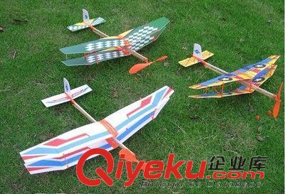 航模拼装橡皮筋飞机