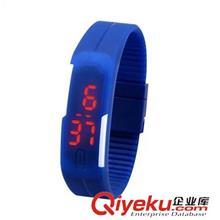 石英表 2015新款LED硅胶环保手表 厂家直销 现货提供 学生运动手表