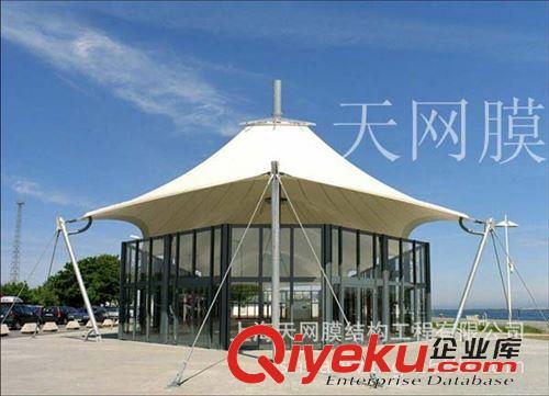 展销会吊顶豪华尖顶篷产品图信息来自上海天网膜结构