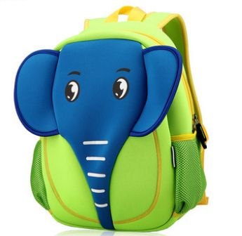 午餐包,妈咪包,冰包 可爱卡通动物大象3d立体宝宝幼儿